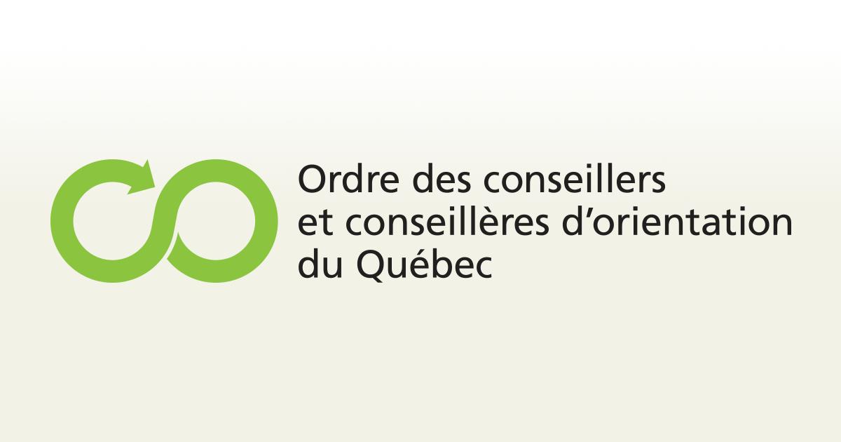 logo - Ordre des conseillers et conseillères d'orientation du Québec