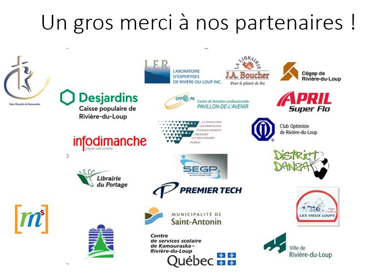 Partenaires - Gala des mérites 2020-2021
